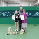 Теннисный турнир для 10 лет и младше в г. Щяуляй 2012-03