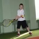"""Projekto """"Vaikų tenisas"""" 7 metų ir jaun. teniso turnyras Klaipėdoje 2012-02-11"""